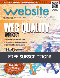 Free Subscription To Website Magazine