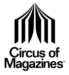 circus of magazines logo