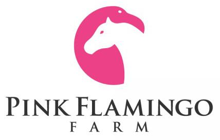 pink flamingo farm logo