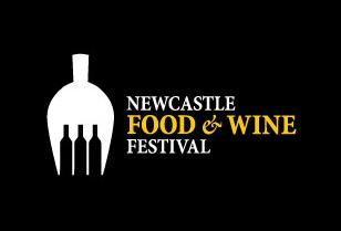 newcastle food and wine logo