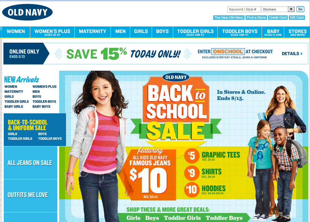 Merchants Ready To Profit With Back To School Promotions