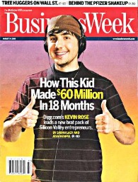 kevin rose businessweek cover