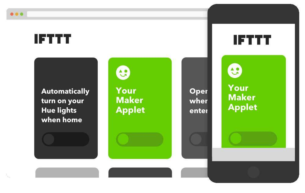 IFTTT Applets for Makers