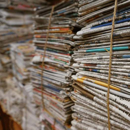 newspaper-stacks