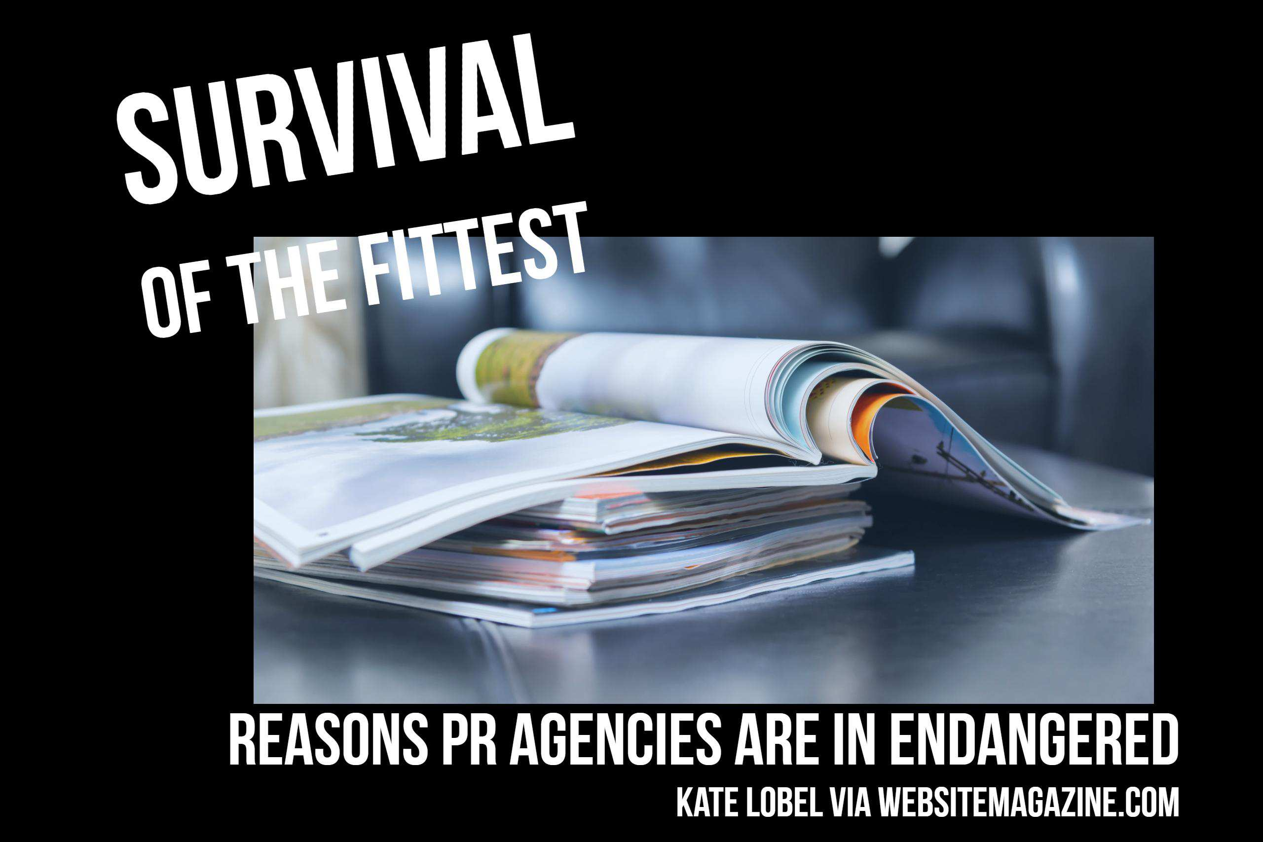 Survival of the Fittest: Reasons Public Relations Agencies