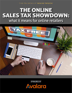 Online Sales Tax Showdown